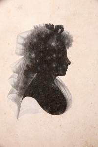 L'unico ritratto conosciuto di Agnes Maclehose, detta Clarinda.
