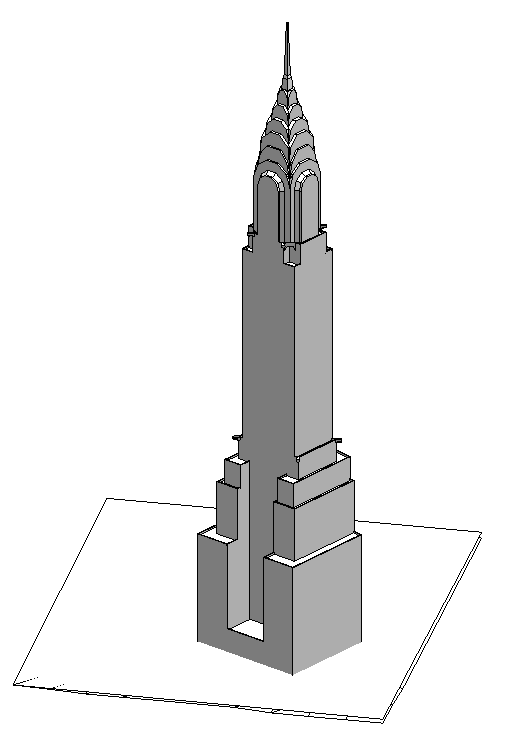 chrysler building - revit da formit