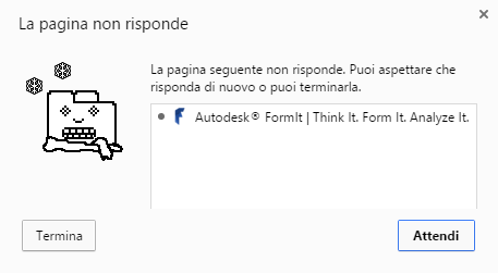 formit - chrome doesn't respond