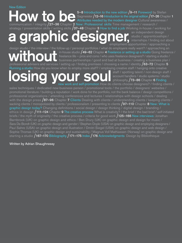 How to Be a Graphic Designer without Losing Your Soul (New Expanded Edition)_ Ad