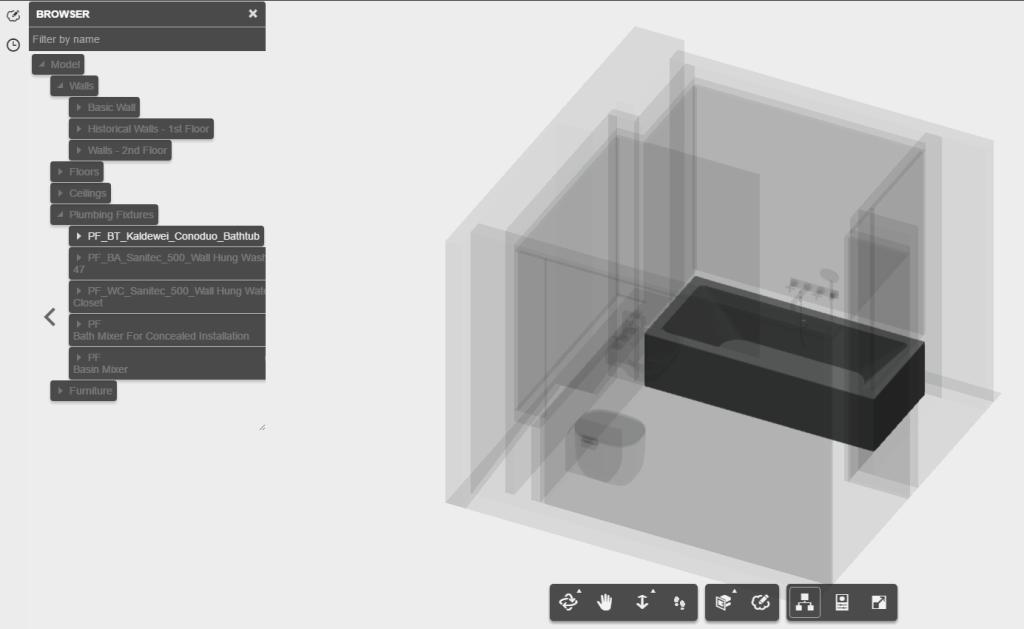 3d model browser