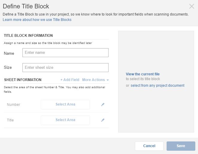 Define Title Block