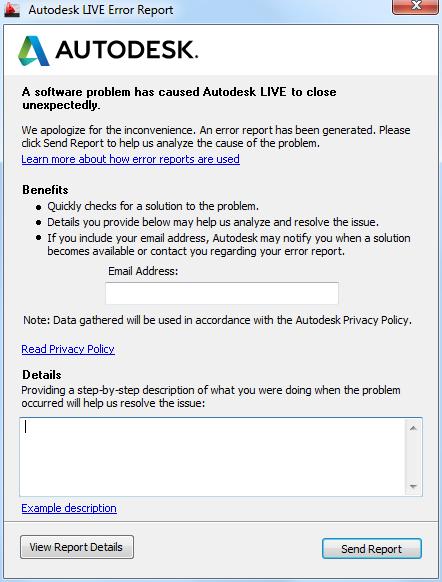 2016-07-26 15_02_21-Autodesk LIVE Error Report