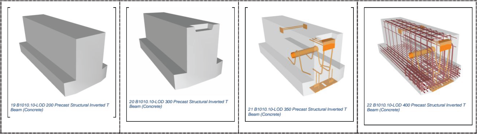 LOD - precast beam