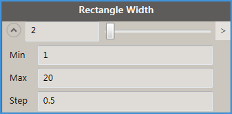 Rectangle Width - Options