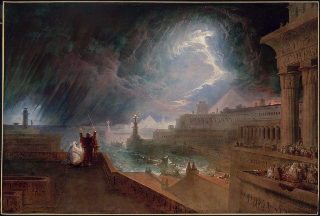 William Turner - The Fifth Plague of Egypt