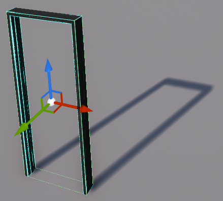 103 - Door Frame box collision