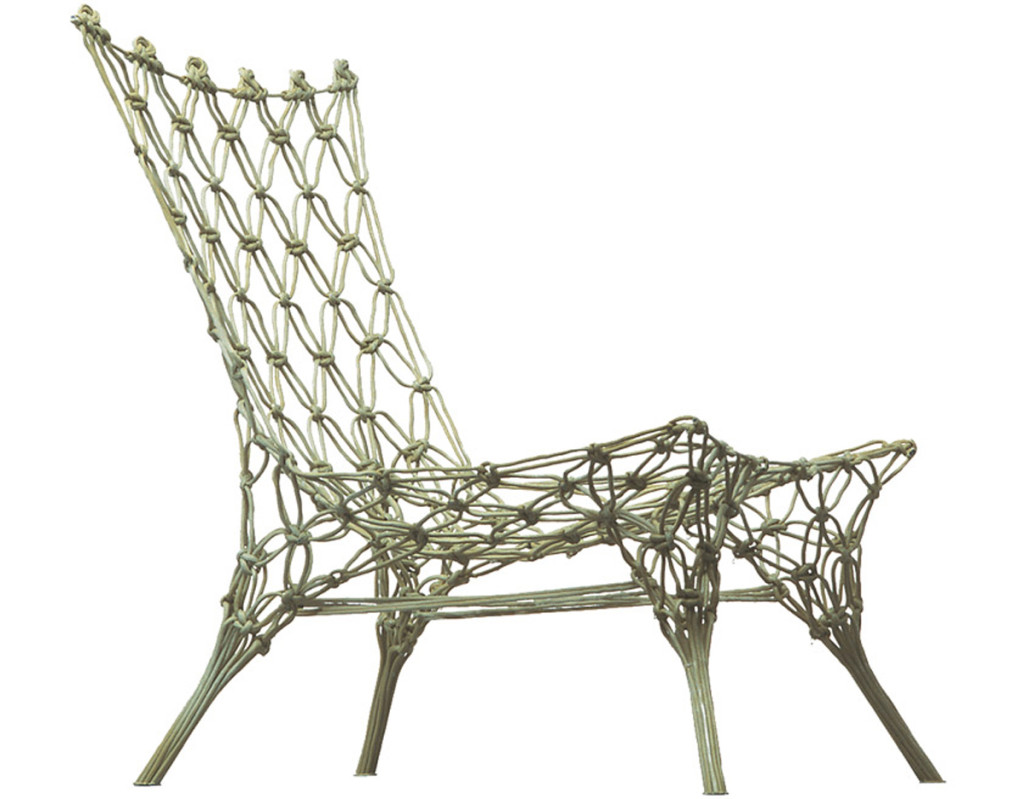 "This is the Knotted Chair by Marcel Wanders: good luck trying to replace it with ""something equivalent""."