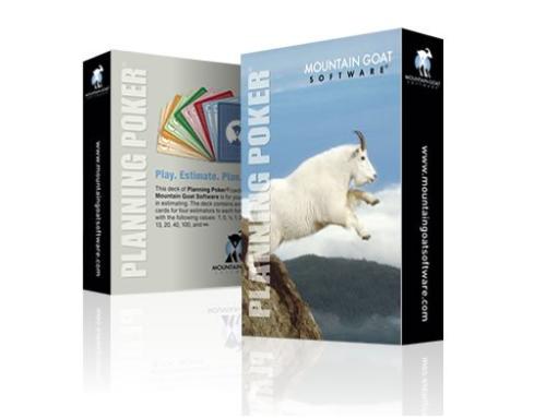 Il mazzo di carte prodotto dalla Mountain Goat, acquistabile su Amazon.