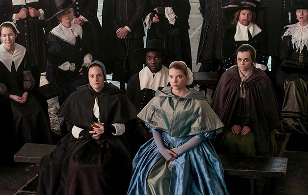 Programme Name: The Miniaturist - TX: n/a - Episode: n/a (No. 1) - Picture Shows: ***EMBARGOED UNTIL 7th DEC 2017*** Marin Brandt (ROMOLA GARAI), Otto (PAAPA ESSIEDU), Nella Brandt (ANYA TAYLOR-JOY), Cornelia (HAYLEY SQUIRES), Frans Meermans (GEOFFREY STREATFEILD), Agnes Meermans (AISLIN McGUCKIN) - (C) The Forge - Photographer: Laurence Cendrowicz