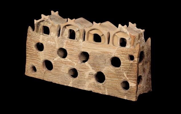 Modello rinvenuto a Gumelnita (Bulgaria), 4600 a.C.
