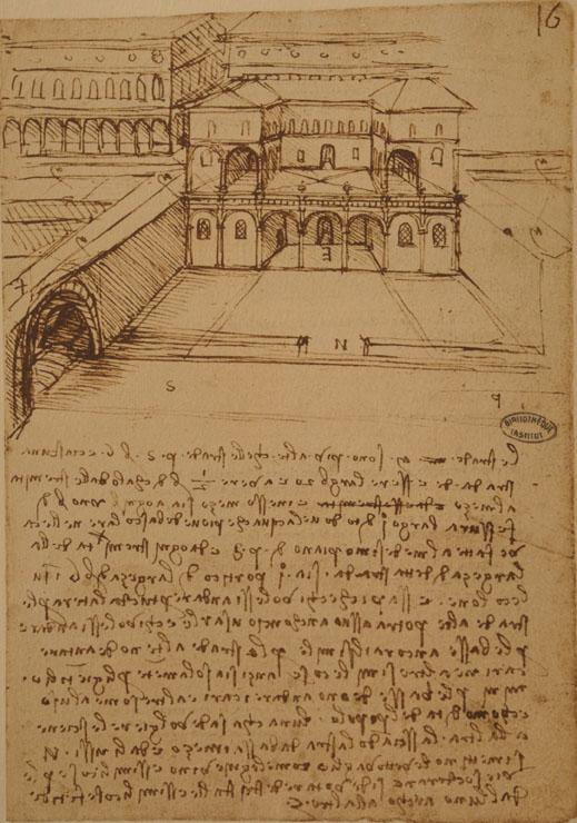 La Città Ideale su due livelli (Leonardo Da Vinci).
