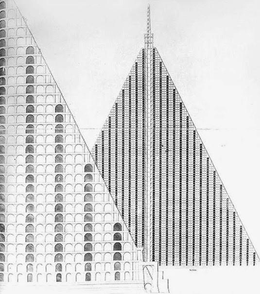 Thomas Wilson, la Piramide per Londra.